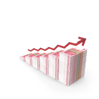 Chinese Yuan Income Graph PNG & PSD Images