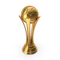 Soccer Cup Gold PNG & PSD Images