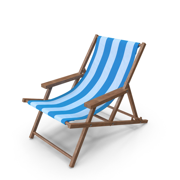 Beach Chair Blue PNG & PSD Images