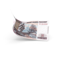 500 Russian Ruble Banknote Bill PNG & PSD Images