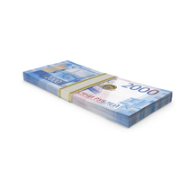 2000 Russian Ruble Banknote Stack PNG & PSD Images