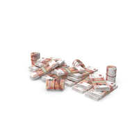 Pile of Russian Ruble Stacks PNG & PSD Images