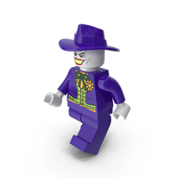 Lego Joker Walk PNG & PSD Images
