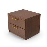 Wooden Night Stand PNG & PSD Images
