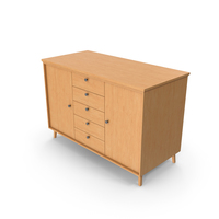Cabinet Wooden PNG & PSD Images