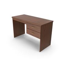 Wooden Home Office Desk PNG & PSD Images