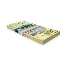 Australian Dollar Banknote Stack PNG & PSD Images