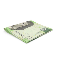 Mexican Peso Banknotes Small Folded Stack PNG & PSD Images