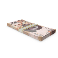 Mexican Peso Banknote Stack PNG & PSD Images