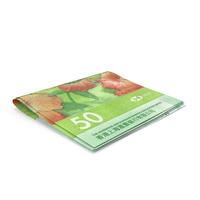 Hong Kong Dollar Banknotes Small Folded Stack PNG & PSD Images