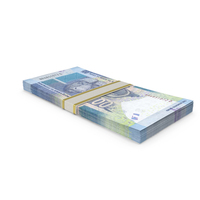 South African Rand Banknote Stack PNG & PSD Images