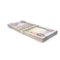United Arab Emirates Dirham Banknote Stack PNG & PSD Images