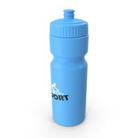 Sports Bottle Blue PNG & PSD Images