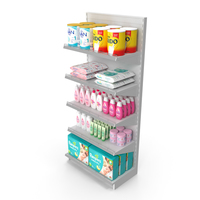Childcare Shelves PNG & PSD Images