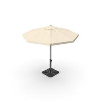 Beige Patio Umbrella PNG & PSD Images