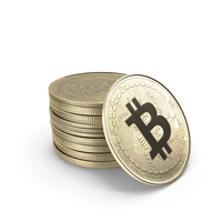 Bitcoin Stack PNG & PSD Images