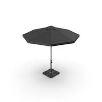 Black Patio Umbrella PNG & PSD Images