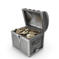 Bitcoin Chest PNG & PSD Images