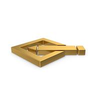 Gold Writing  Symbol PNG & PSD Images