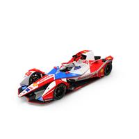 Formula E Mahindra 2020 2021 PNG & PSD Images