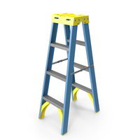 Double Sided Stepladder PNG & PSD Images