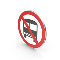 No Heavy Vehicle Sign PNG & PSD Images
