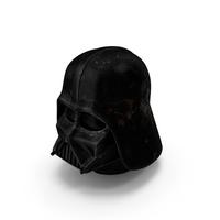 Worn Dart Vader Helmet PNG & PSD Images