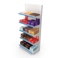 Chocolate Shelves PNG & PSD Images