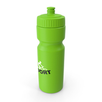 Sports Bottle Green PNG & PSD Images
