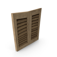 Stylized Window Shutters PNG & PSD Images