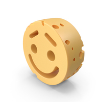 Smiley Face Lifted Brow cheese PNG & PSD Images