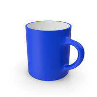 Blue and White Cup PNG & PSD Images