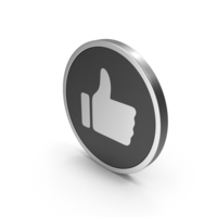 Silver Icon Like PNG & PSD Images
