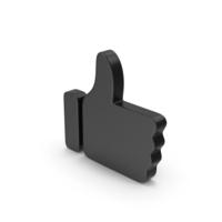 Black Symbol Like PNG & PSD Images