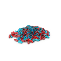 Pile of Red Blue Pills PNG & PSD Images