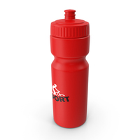 Sports Bottle Red PNG & PSD Images