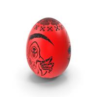 Grim Reaper Skull Evil Egg PNG & PSD Images