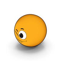 Emoji Wink PNG & PSD Images