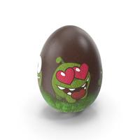 Easter Egg Chocolate Om Nom PNG & PSD Images