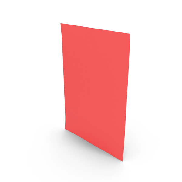 Colored Paper Red PNG & PSD Images