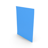 Colored Paper Blue PNG & PSD Images
