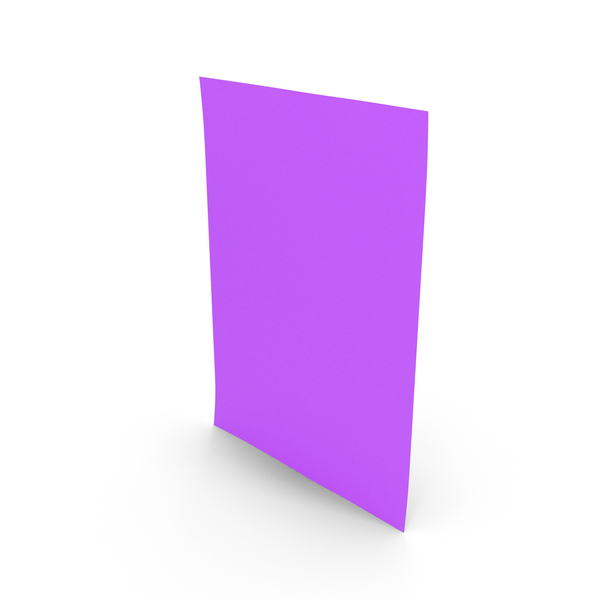 Colored Paper Purple PNG & PSD Images