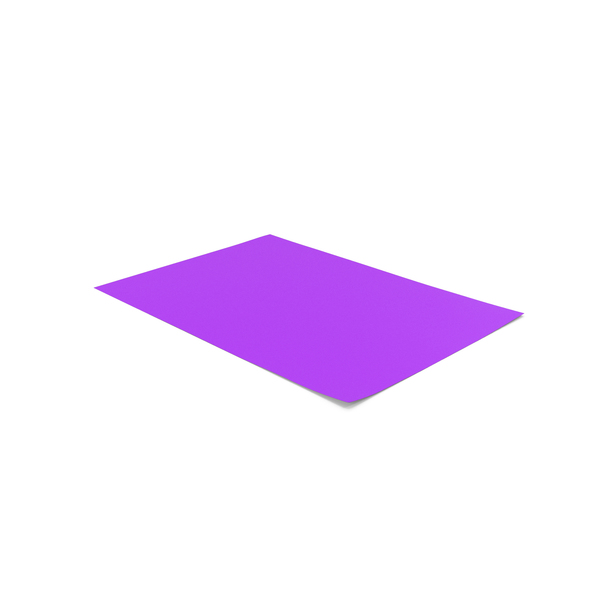 Colored A4 Paper Purple PNG & PSD Images