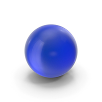 Glass Ball Blue PNG & PSD Images