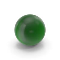 Glass Ball Dark Green PNG & PSD Images