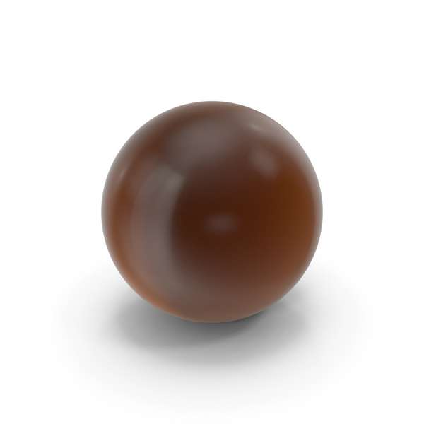 Glass Ball Brown PNG & PSD Images