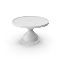 Cake Stand Monochrome PNG & PSD Images