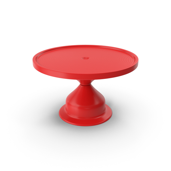 Cake Stand Red PNG & PSD Images
