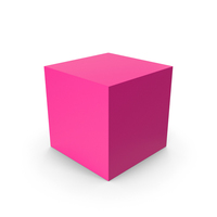 Cube Pink PNG & PSD Images