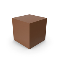 Cube Brown PNG & PSD Images